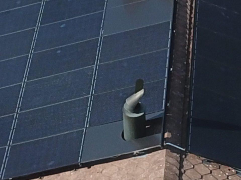 Photovoltaikanlage mit Blindmodul
