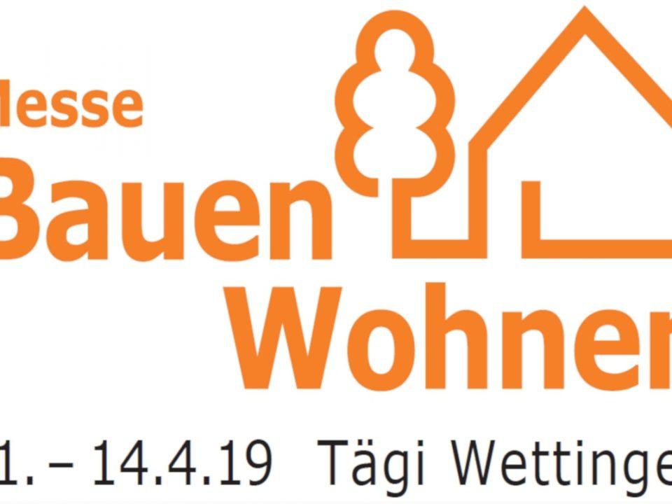 Logo Messe Bauen und Wohnen Wettingen